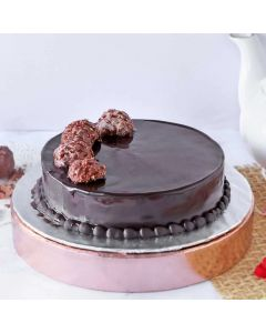 Ferrero Rocher Chocolate Round Cake