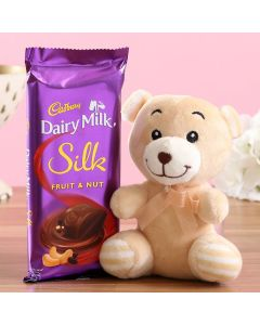 Fruit N Nut Silk With Teddy Bear