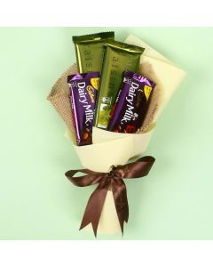 4 Cadbury Chocolate Bouquet