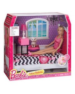 Barbie Doll Deluxe Bedroom