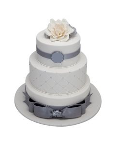 Buy 3 tier Wedding Anniversary Cake Online (5 Kg)