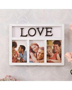 """Love"" Collage Photo Frame"