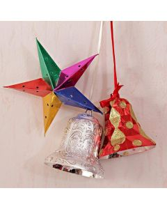 Buy Christmas Decor Bell with Star Online