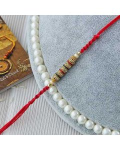 Buy Beautiful Multi Colored Stones Rakhi Online