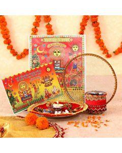 Buy Karva Chauth Pooja Thali Online