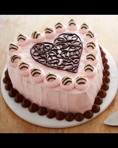 Buy Heart Felt Valentine Cake Online