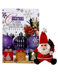 Buy Christmas Card & Santa Toy Online
