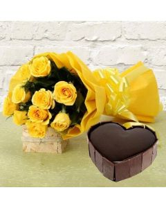 Flowers and Cake Combo Pack