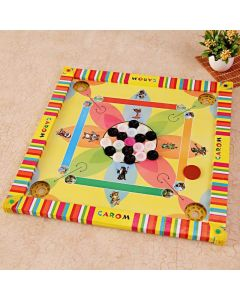 Buy 2 in 1 Carrom Board with Ludo Board Online