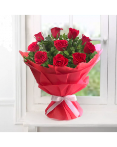 Send Red Roses Bouquet Online
