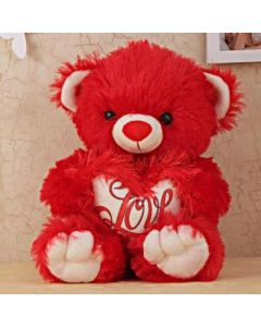 Buy Red Stuffed Teddy Bear Online