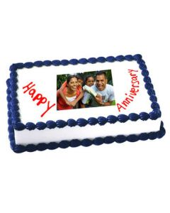 Buy Anniversary Photo Cake of 1 kg Online