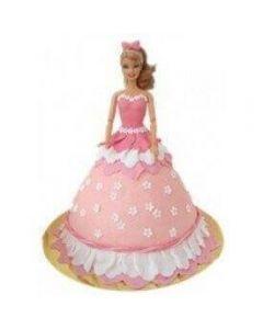 Buy Barbie Doll Cake Online (3 Kg)