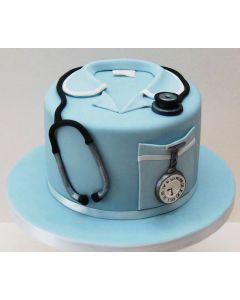 Doctor Fondant Cake