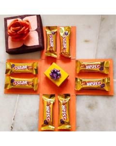 Bundle of Sweetness – 8 Five Star Chocolates with Gift Box