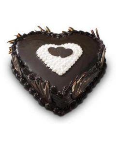 Buy Heartshape Chocolate Cake Online