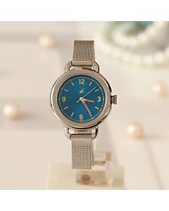Buy Casual Silver Watch For Women