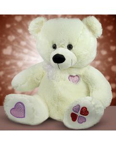 Buy Cute White 13.7 Inches Teddy Bear Online