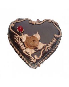 Buy Heart Shape Choclate Truffle Cake Online (3 Kg)