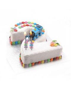 Buy Number-2 Cake Online (3 Kg)