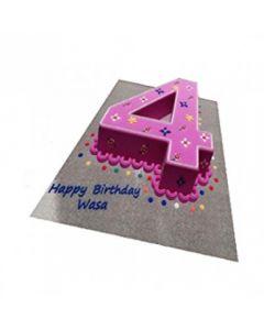 Buy Number-4 Cake Online (3 Kg)