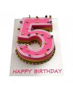 Buy Number-5 Cake Online (3 Kg)
