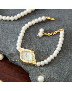 Buy Party Wear Golden Watch For Women