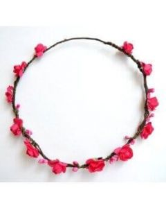 Buy Pink Tiara Head Band Online