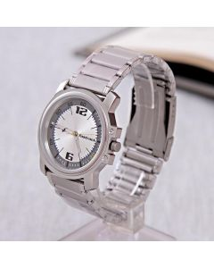 Buy Silver Fastrack Watch For Men