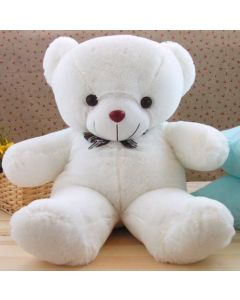 Buy White Teddy With Heart Online