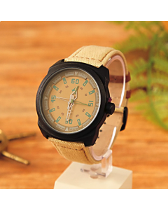 Casual Leather Belt Fastrack Watch For Men