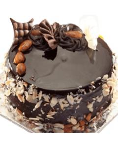 Chocolate Flaky Gooey Cake