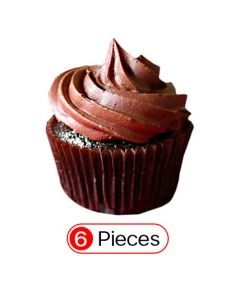 Buy Ultimate Chocolate Cupcakes Online (6 Cup)