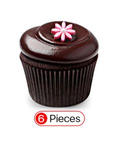 Yummy Chocolate Cupcakes (6 Cup)