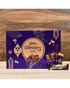 Chocolate Gift Pack With Cadbury Celebrations Box