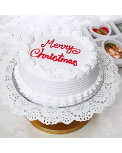 Christmas Vanilla Cake Half kg
