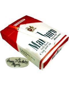 Cigarette Theme Cake