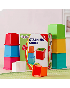 Colorful Stacking Cubes