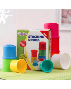 Colorful Stacking Drums