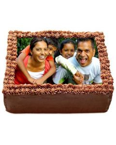Buy Yummy Chcocolate Photo Cake Online
