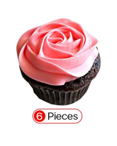 Rose Cupcakes (6 Cup)