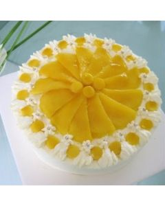 Fresh Mango (Seasonal) Cake
