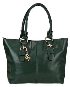 Dark Green Coloured Ladies Bag