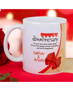 Wedding Anniversary Personalize Mug