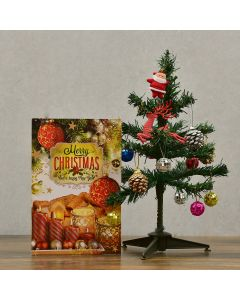 Greeting Card and Christmas Tree with Decorative Item