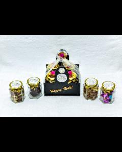 Rakhi Special Gifts with Chocolates, Namkeen & Cookies