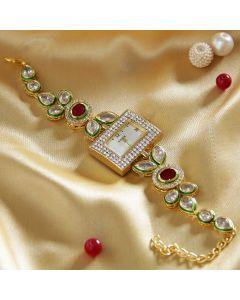 Kundan Traditional Watch For Women