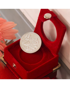 Laxmi Ganesha Silver Coin 10 Gms