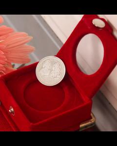 Laxmi Ganesha Silver Coin 5 Gms