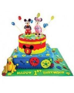 Mickey Minnie Celebration Cake  5 KG
